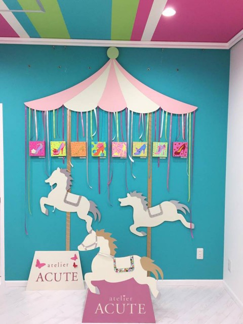 atelier ACUTE Opening Reception Photo Booth Decoration